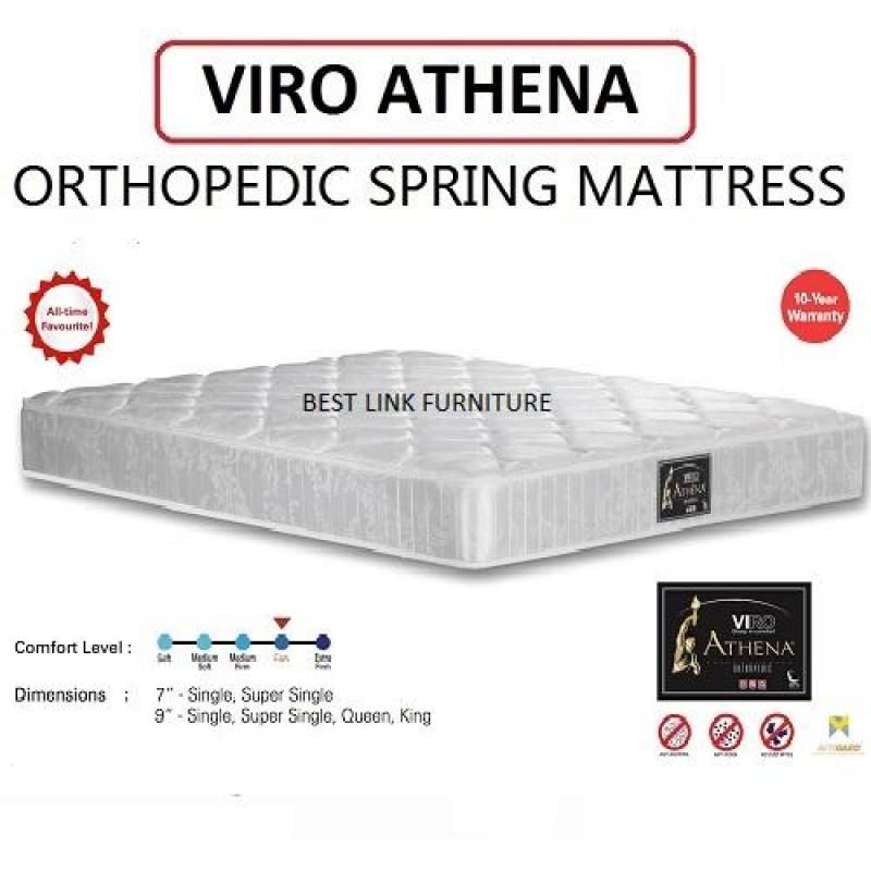 BEST LINK FURNITURE VIRO ATHENA 9 Orthopedic Spring Mattress (Single)