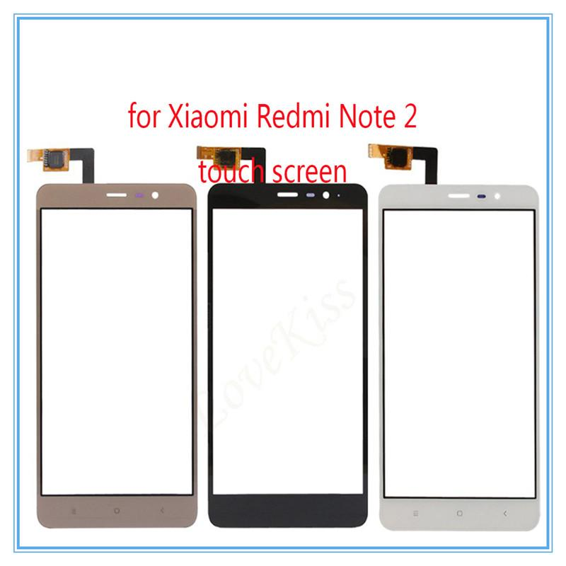 Ponsel Layar Sentuh Sensor untuk Xiaomi Redmi Note2 Sentuh Layar Digitizer Hitam/Putih/Emas