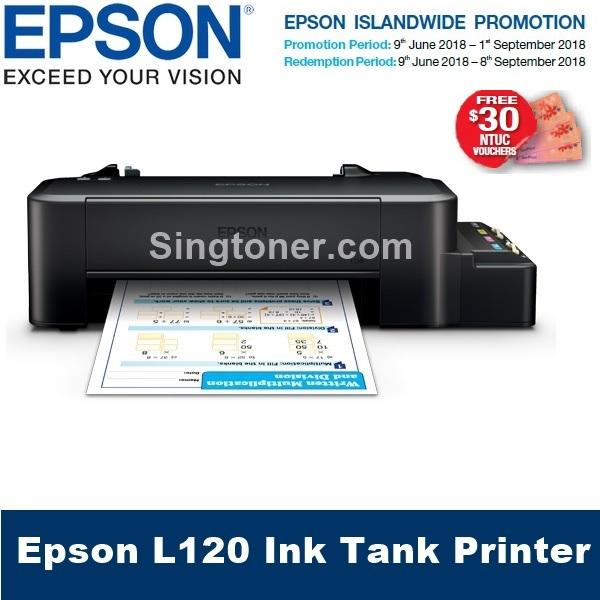 Deals For Singapore Warranty Epson L120 Ink Tank Printer Epson 120 L 120