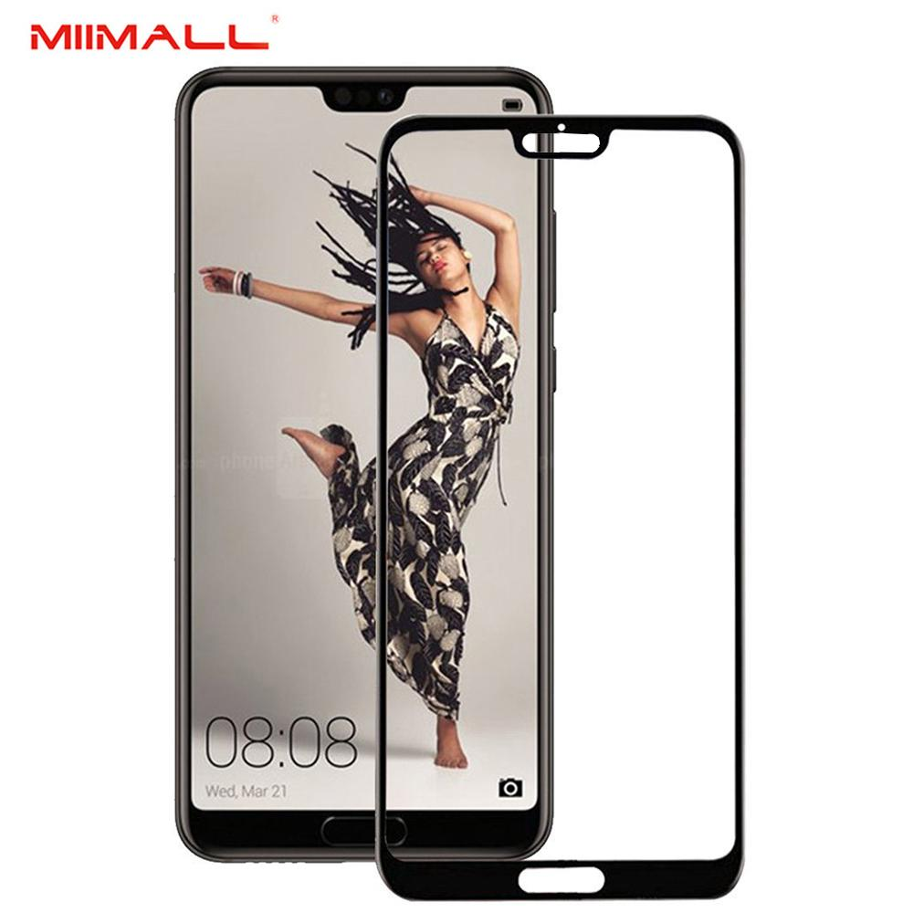 Miimall Huawei P20 Pro Screen Protector Scratch Terminator Ultra Clear 2 5D Round Edge 9H Hardness Tempered Glass Screen Protector Film With Oleophobic Coating For Huawei P20 Pro Intl Online