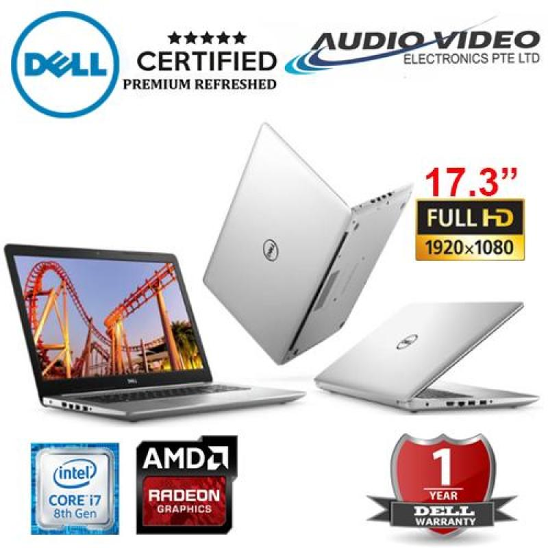 Dell 17.3-inch FHD 8th Gen Intel(R)Core(TM) i7-8550U(8MB Cache, up to 4.0 GHz)/8GB DDR4 /128GB SSD+1TB HDD/AMD Radeon(R) 4GB 530 Graphics /Windows 10 Home/1yr warranty