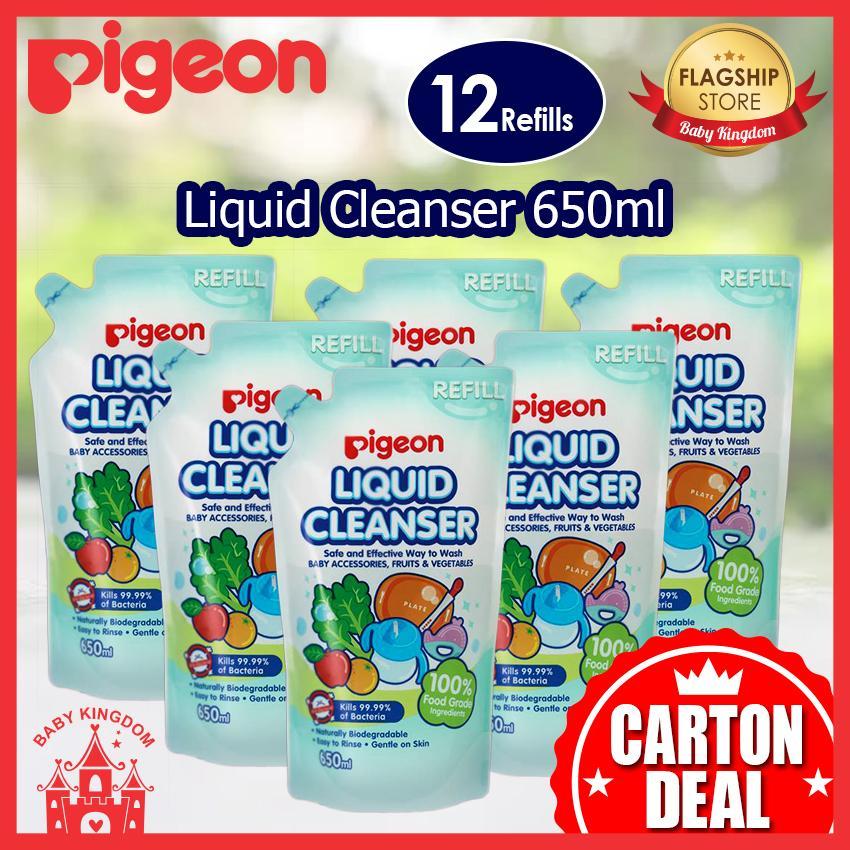 Low Cost Pigeon Liquid Cleanser Refill 650Ml 12Pcs