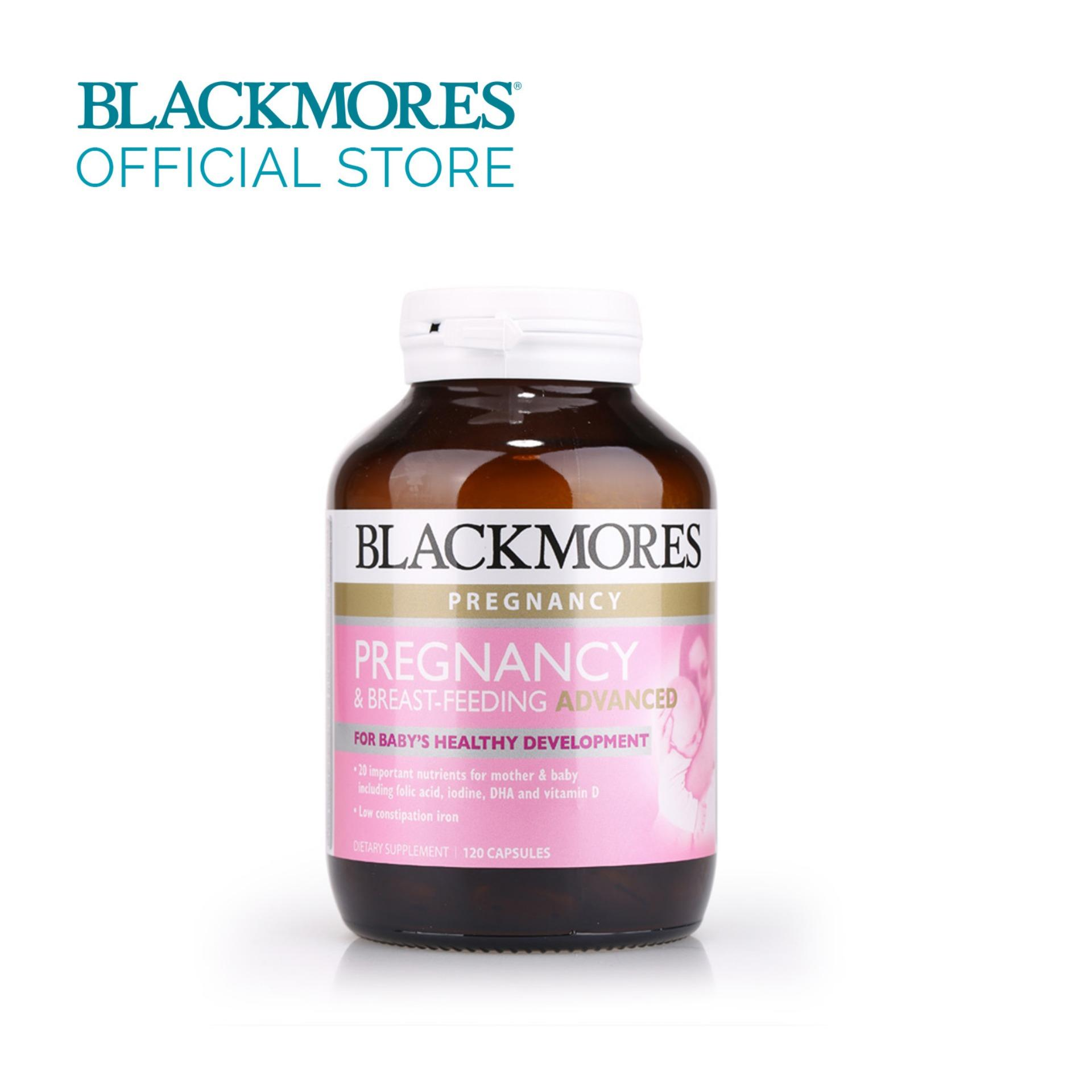 Buy Blackmores Pregnancy And Breastfeeding Advanced 120Caps Blackmores Original