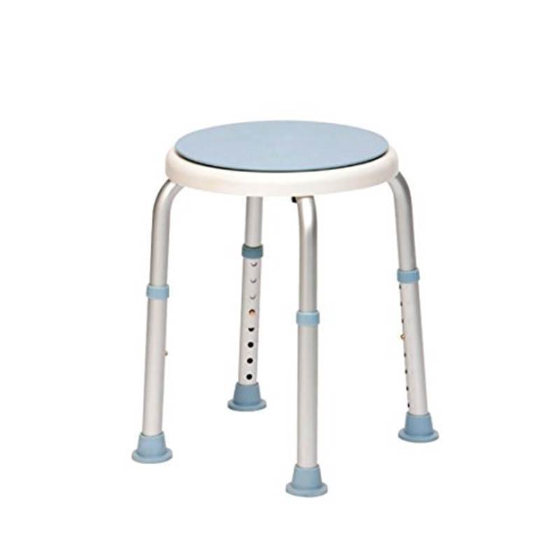 Swivel Seat Adjustable Height Shower Stool