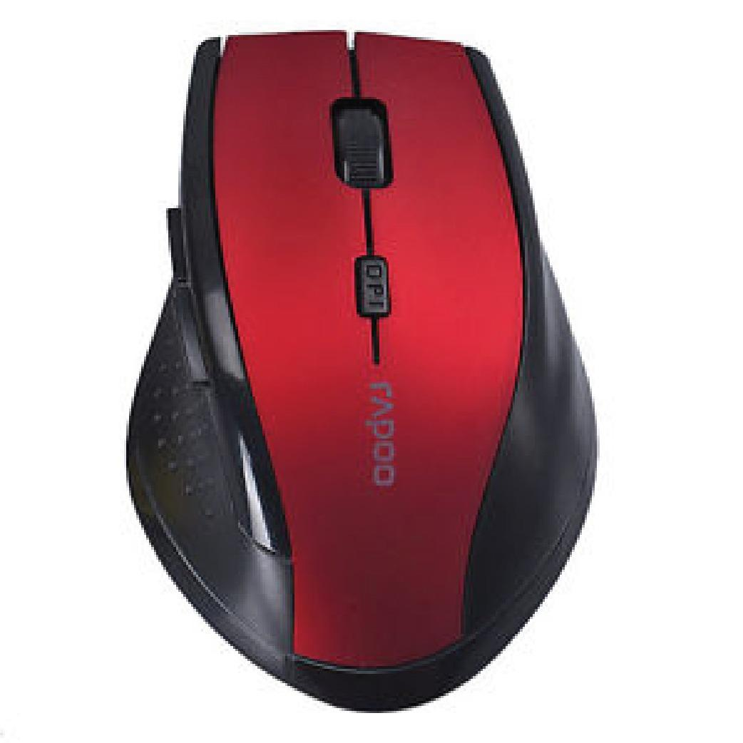 Price And Review Rapoo 7300 Professional 2 4ghz Optical Wireless Mouse Usb Computer 24g Button Gaming Black August 2018