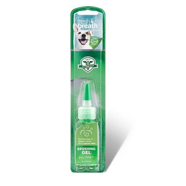Tropiclean Fresh Breath Brushing Gel For Dogs By Singpet.