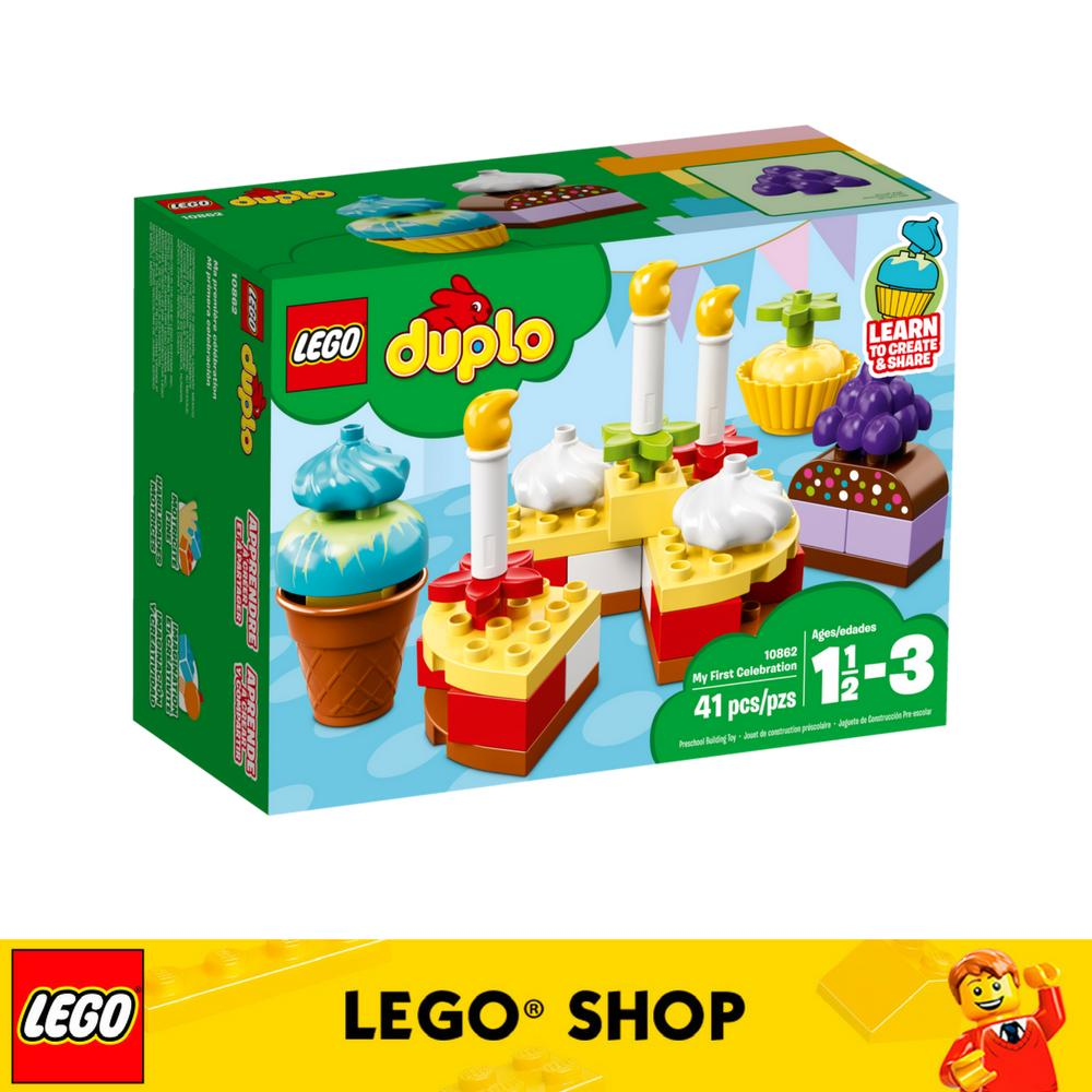 Buy Lego® Duplo My First My First Celebration 10862 Online Singapore