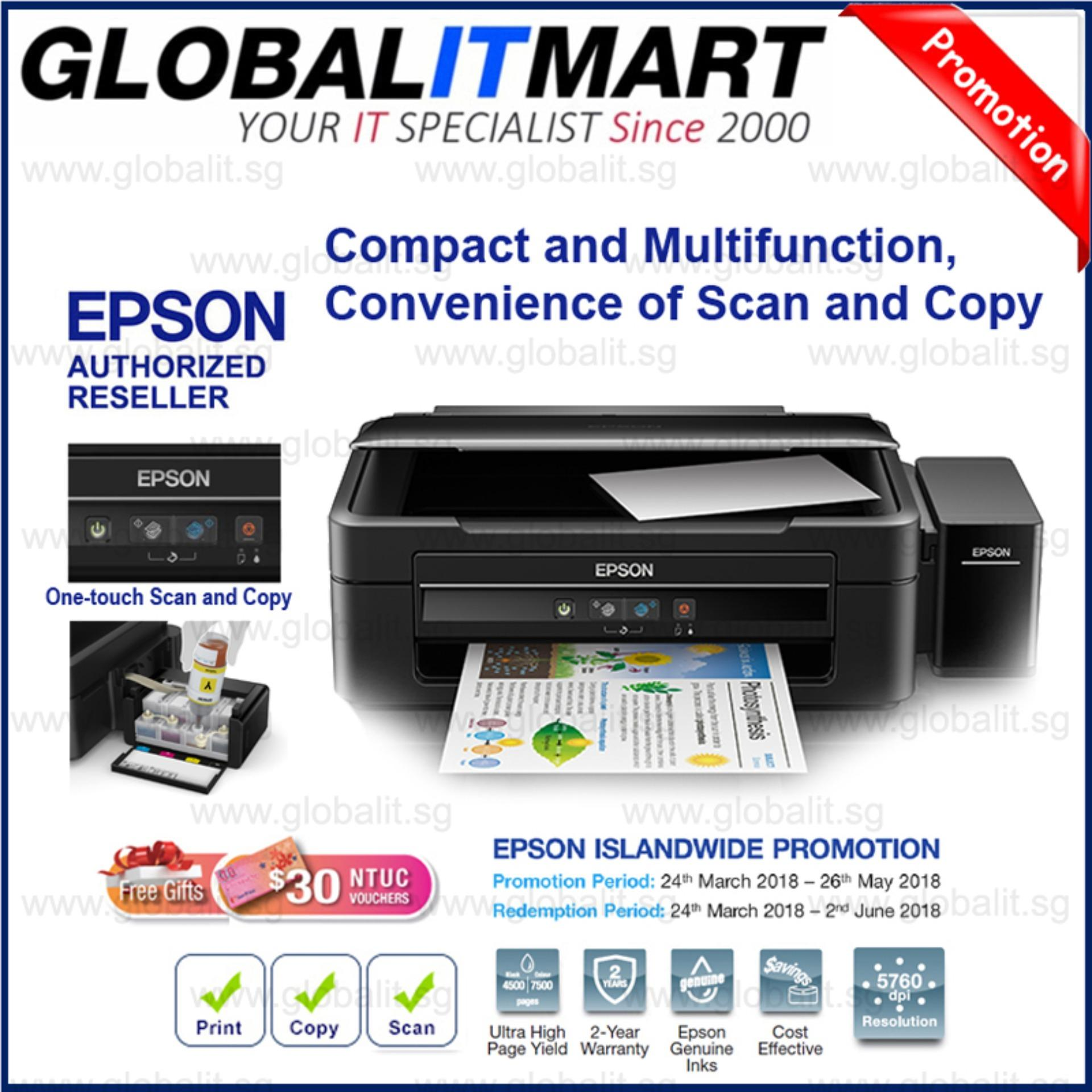 The New Price Of Singapore Warranty Epson L120 Ink Tank Printer Cartridge Lx310 L380 All In One