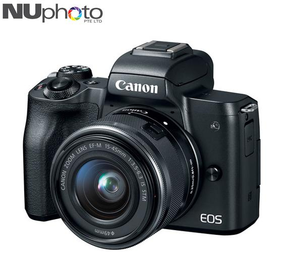 Cheapest Canon Eos M50 Mirrorless Digital Camera With 15 45Mm Lens Free Sandisk Extreme 32Gb Sd Card