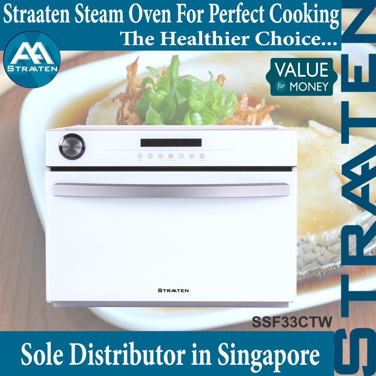 Straaten Ssf33Ctw Free Standing Counter Top Steam Oven 33 Litres 1 Year Warranty Free Shipping