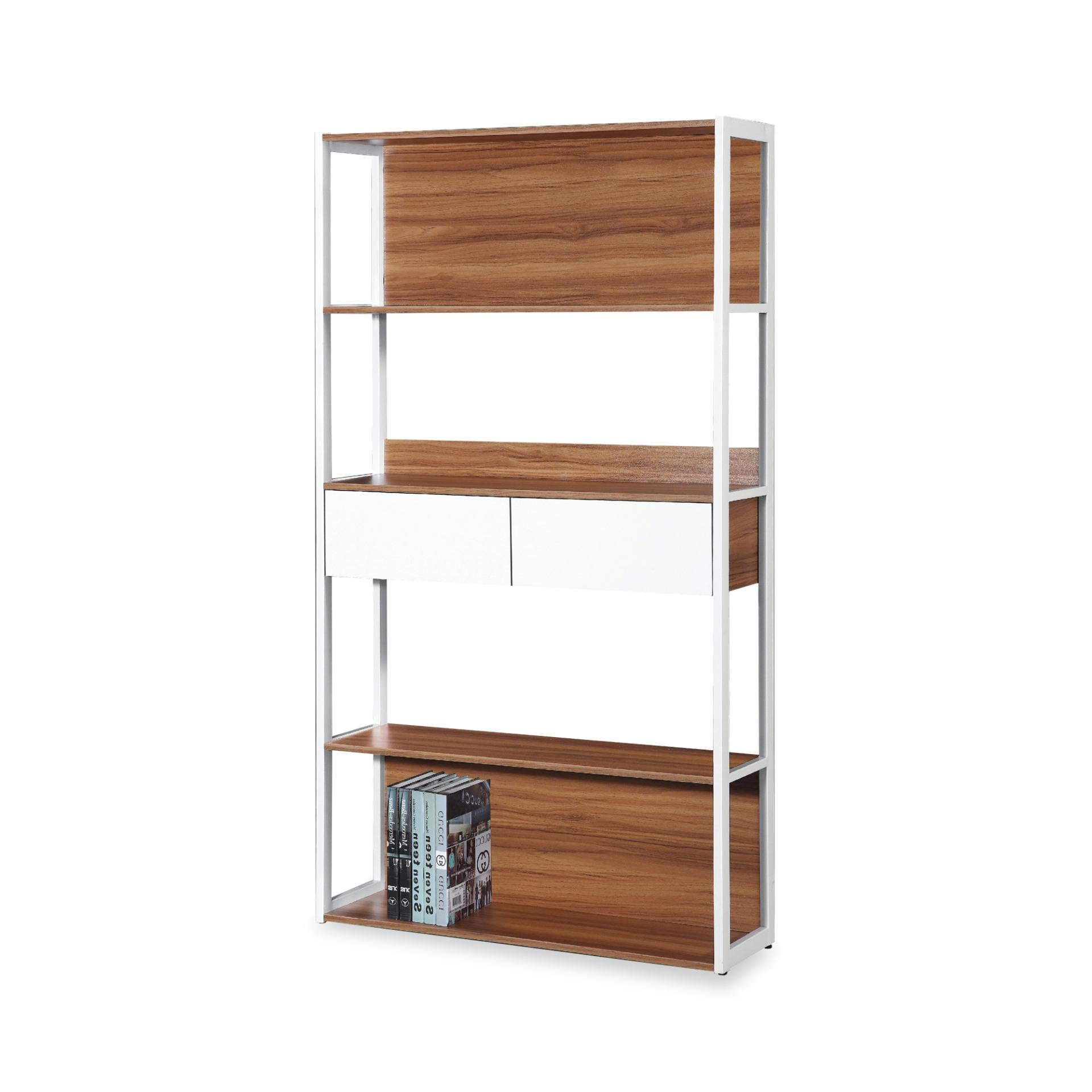 Amedeo Book Cabinet With Storage Shelves (FREE DELIVERY)(FREE ASSEMBLY)