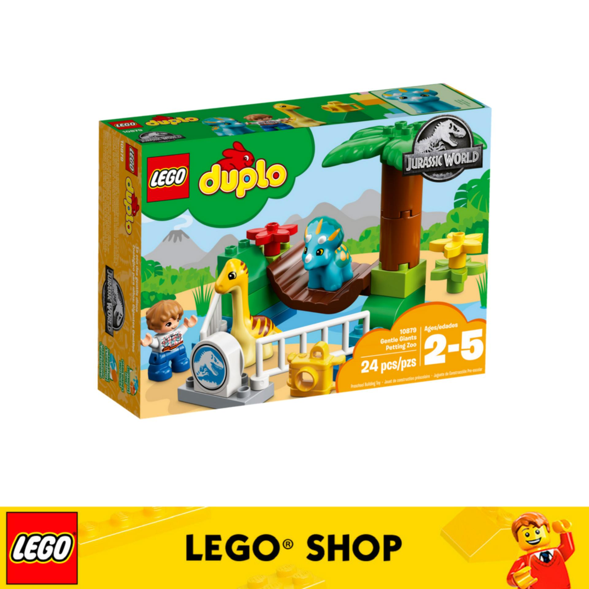 Where Can You Buy Lego® Duplo Jurassic World Gentle Giants Petting Zoo 10879