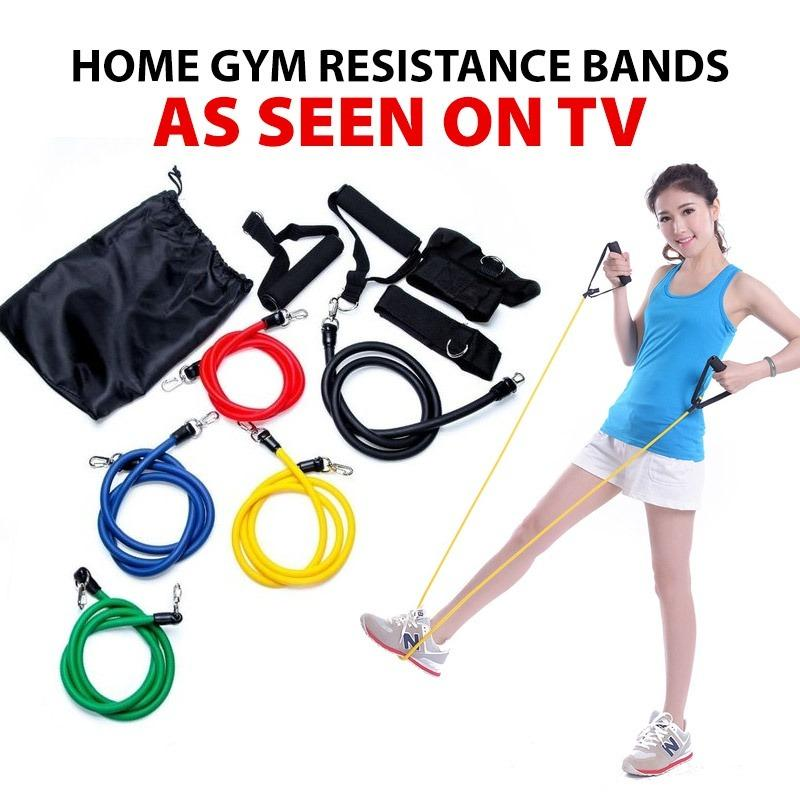 Buy Tv Power Resistance Bands Home Gym Extreme 100 Latex Online