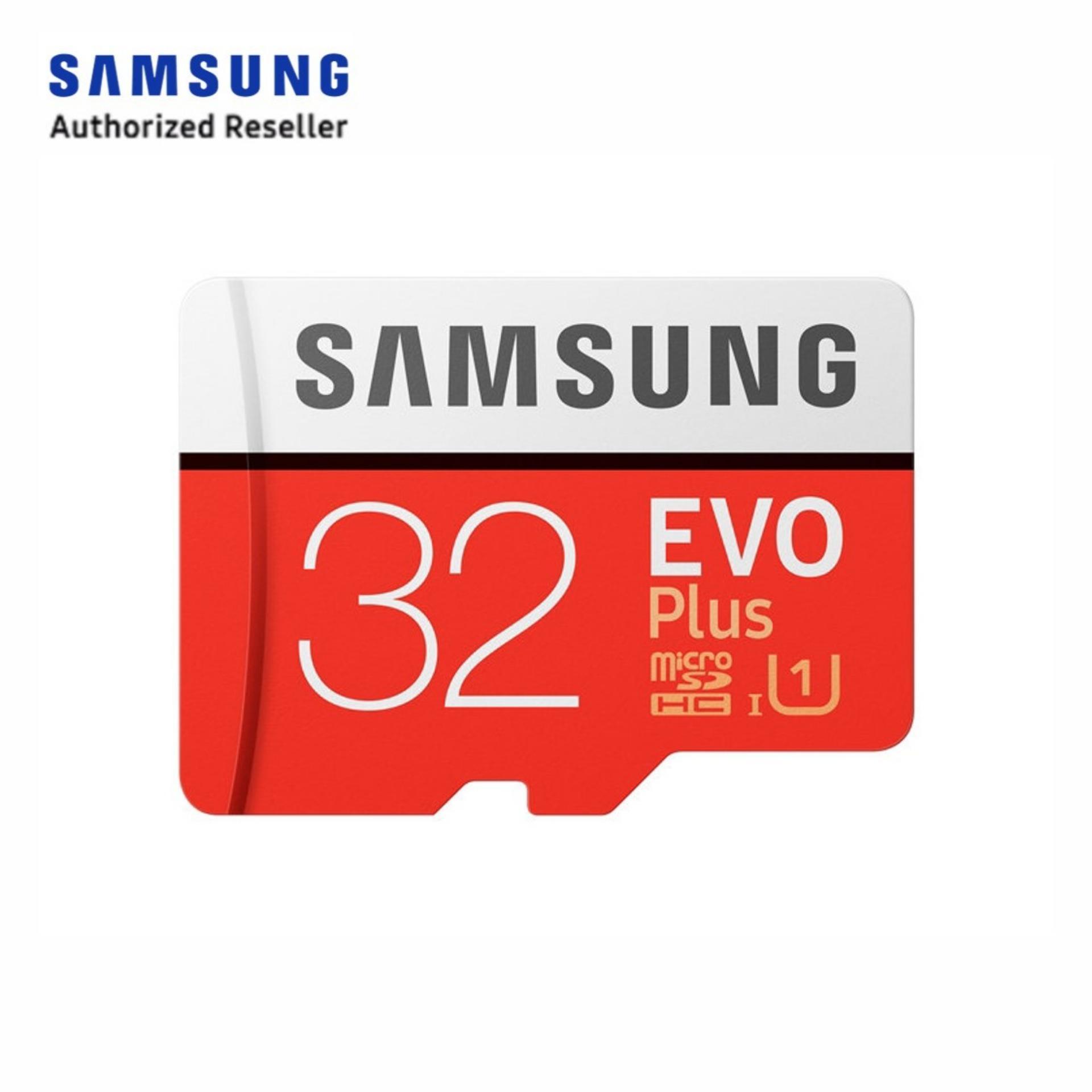 Compare Price Samsung 32Gb Evo Plus 2 Microsd 95 20Mbs W Apt On Singapore