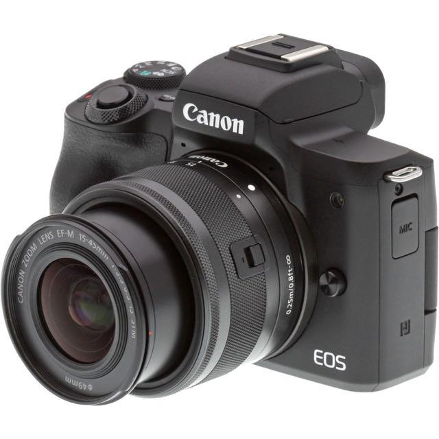 Lowest Price Canon Eos M50 Mirrorless Digital Camera With 15 45Mm Lens Black