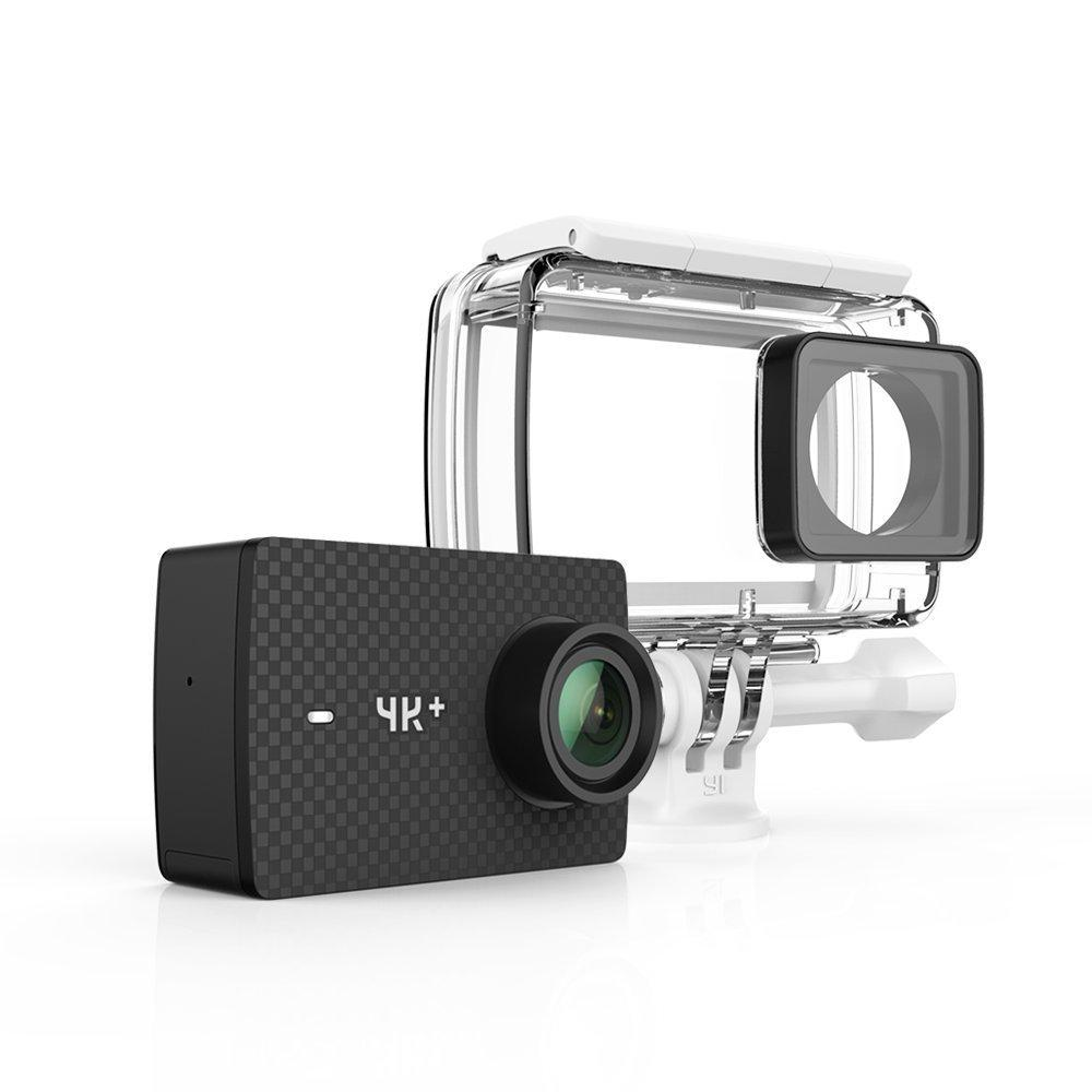 Get The Best Price For Xiaomi Yi 4K Plus 2017 Action Camera 4K 60Fps Waterproof Case Eng Black
