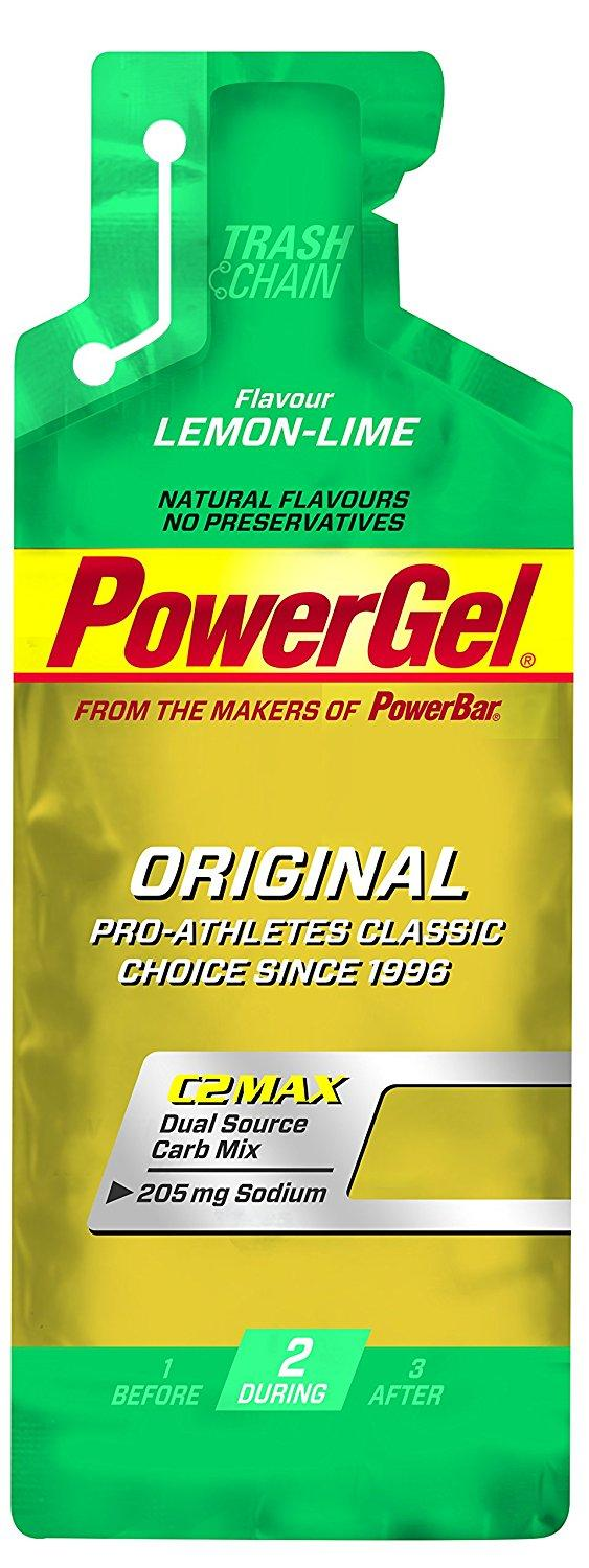 Buy Powerbar Powergel Lemon Lime 24 Pack With Free Gift Powerbar
