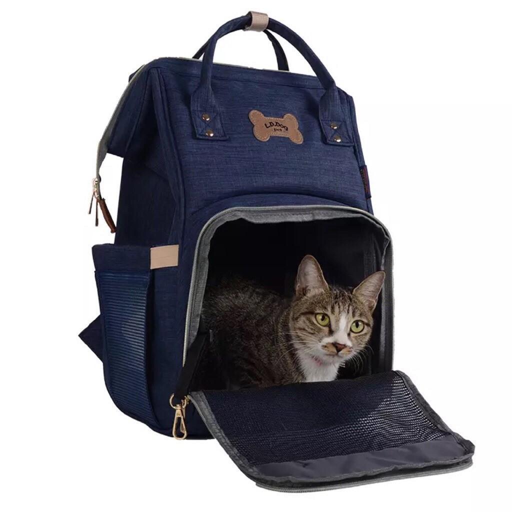 Buy Pet Backpack Dog Backpack Cat Backpack Blue Color No Brand