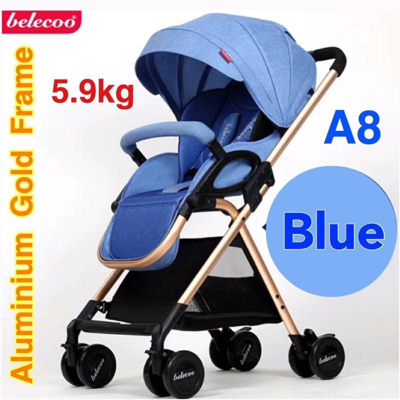 A8 5.9kg Stroller / Pram (Blue) Singapore