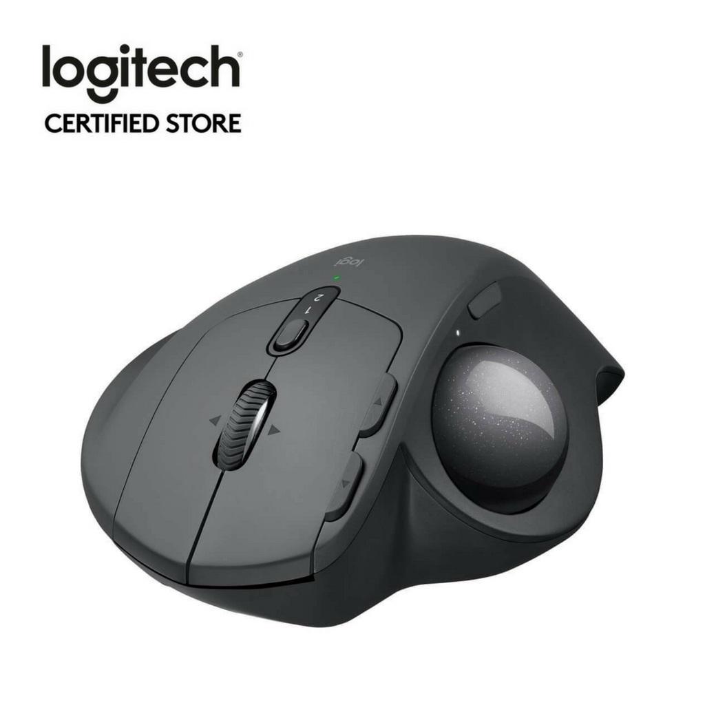 Sale Logitech Mx Ergo Advanced Wireless Trackball With Logitech Flow Technology Logitech Branded