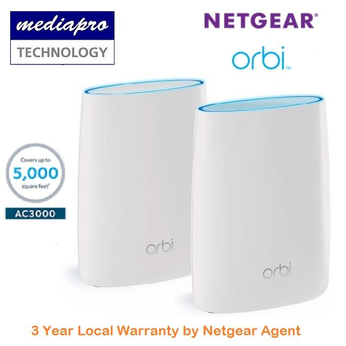 Review Netgear Orbi Wifi System Rbk50 Ac3000 Netgear On Singapore