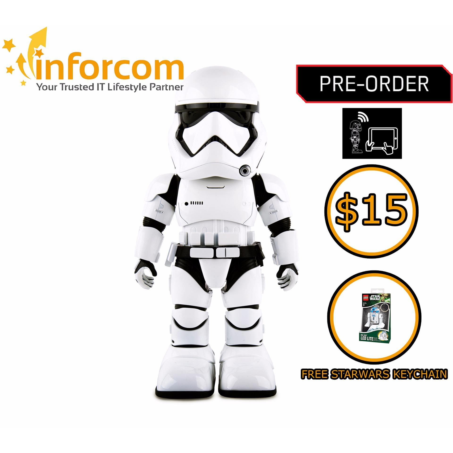Ubtech Buy At Best Price In Singapore Alpha 1s Humanoid Robot First Order Stormtrooper