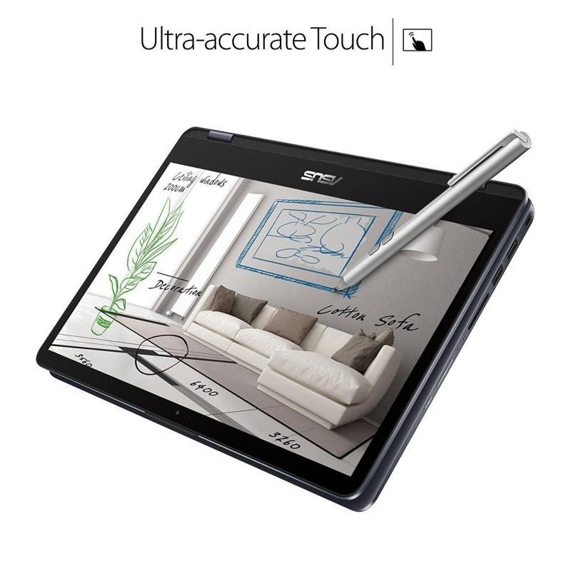 Flagship Asus VivoBook Flip 12 11.6 2-in-1 HD Touchscreen Business Laptop/tablet w/ Asus Stylus Pen- Intel N3350 Up to 2.4GHz 4GB RAM 64GB Emmc FingerPrint Reader USB Type-C 802.11ac Win 10