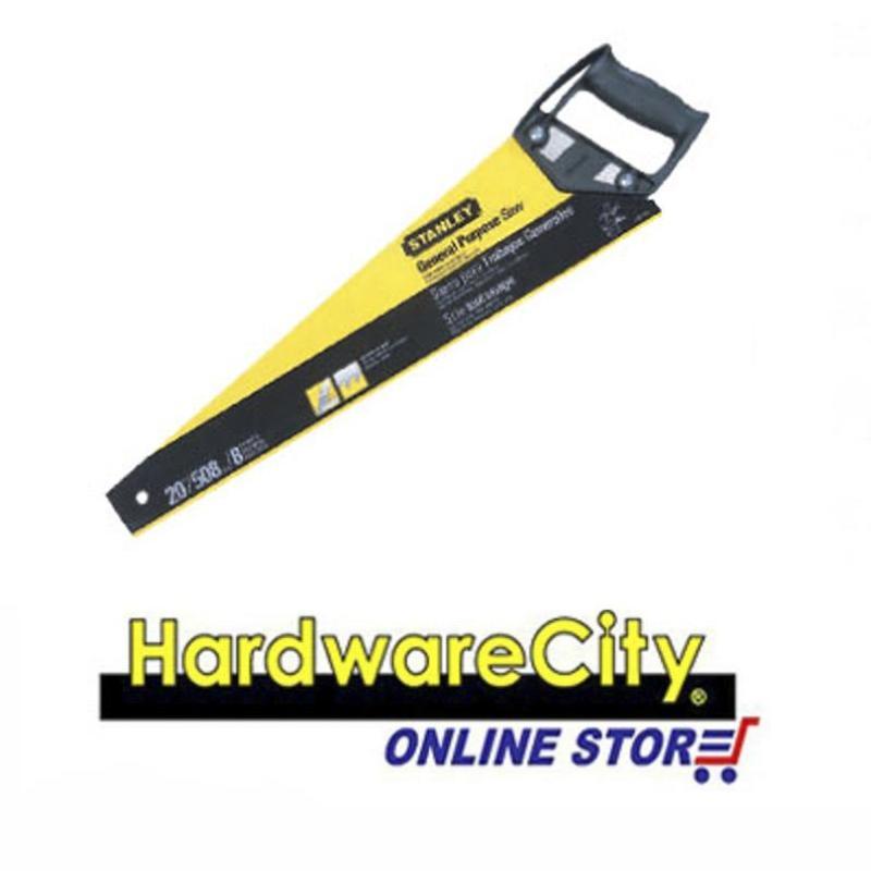 Stanley General Purpose Hacksaw (CrossCut Series) - 18 / 450mm 6PT [20-080]
