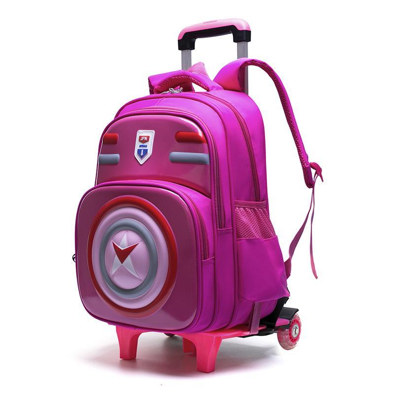 Sinh Viên Xe Đẩy Rời Backpack Có Thể Trèo