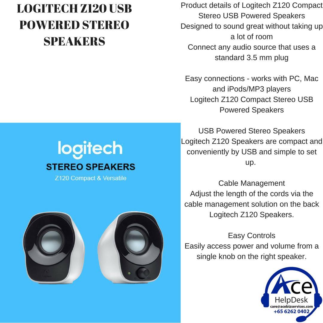 Logitech G560 Lightsync Pc Gaming Speaker Singapore Z120 Compact Stereo Usb Powered Speakers