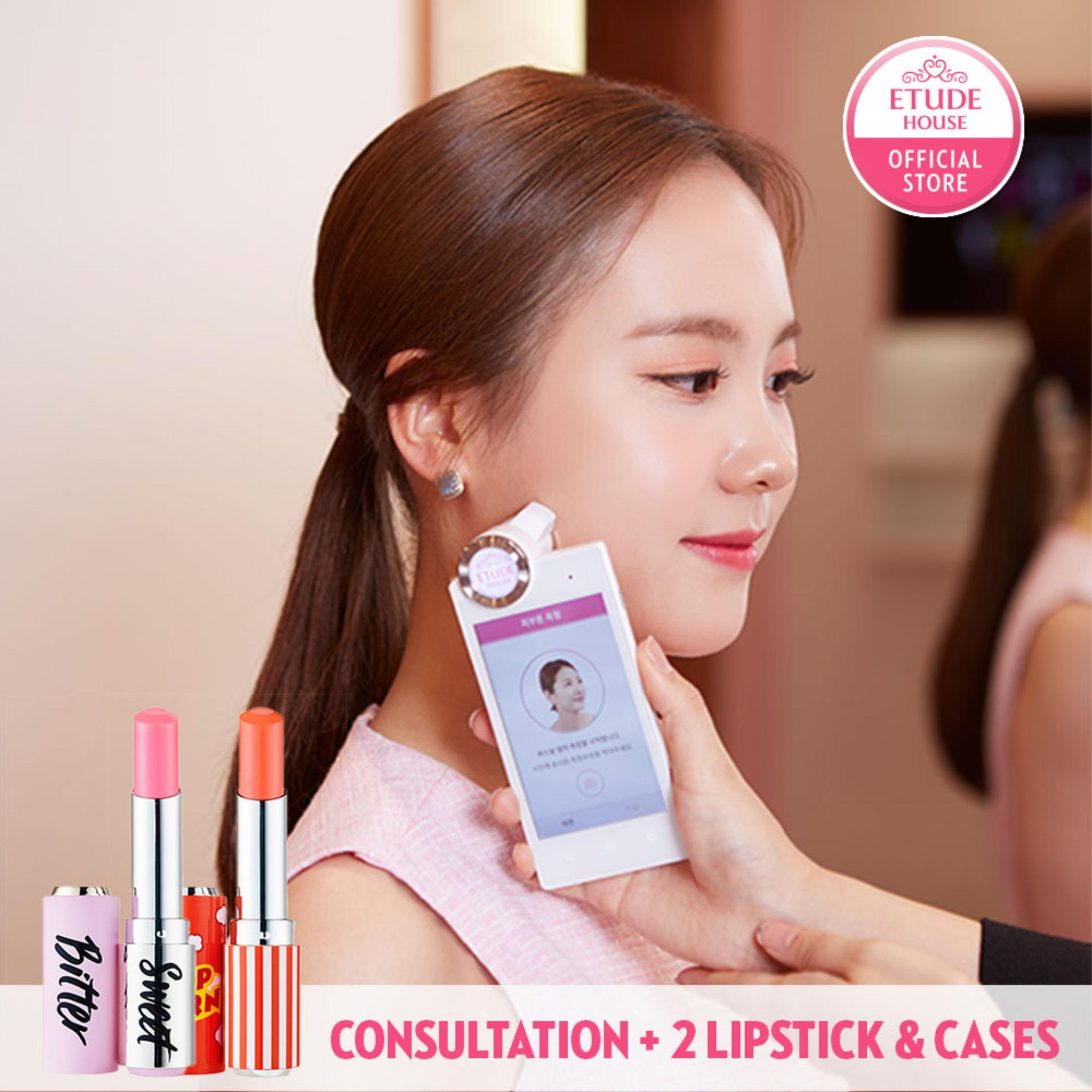 Etude House Color Factory My Personal Lipstick Service (2 Colors) By Etudehouse (capitaland Merchant).