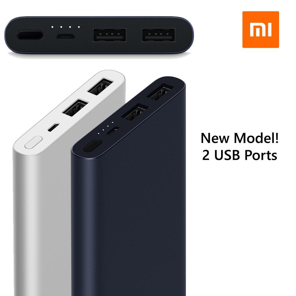 Xiaomi 10000Mah Gen 2S Dual Usb Powerbank Export Singapore