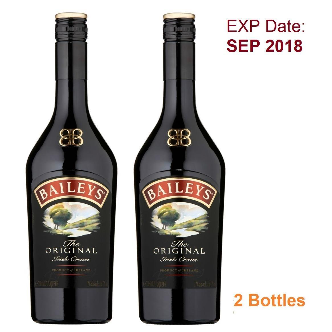 Latest Bailey S Original Irish Cream 70Cl 2 Bottles