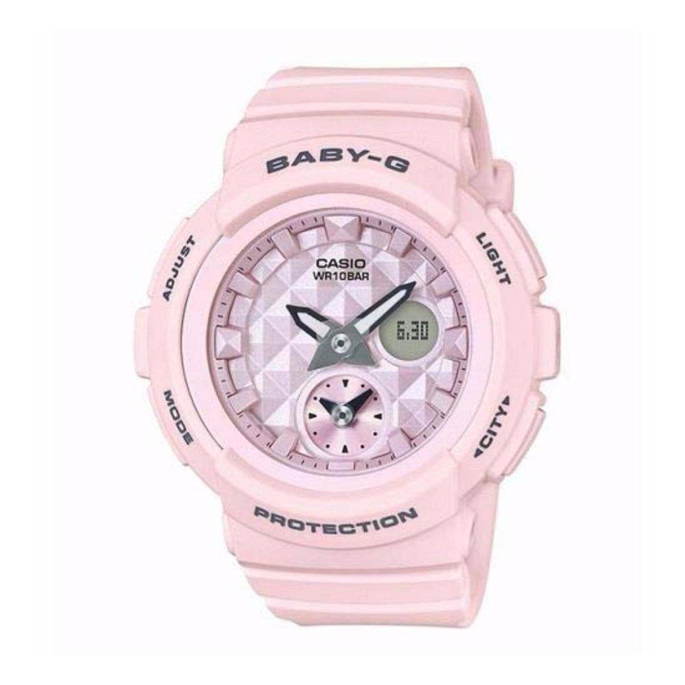 Affordable Casio Baby G Bga 210 7b4 Dual Dial World Time Analog 185fs 7a Shock Resistant Digital 190be 4a 4adr Pink Color 12600 Update