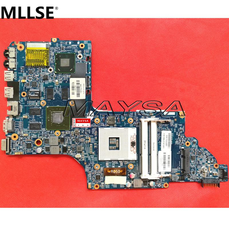682170-501 laptop motherboard 682170-001 fit for HP Pavilion DV6 DV6-7000 630M/2G Notebook PC systemboard 100% Tested - intl