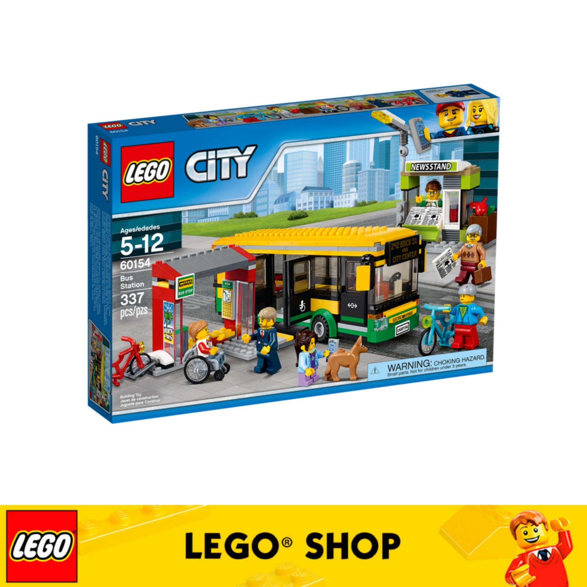 Buy Lego® City Town Bus Station 60154 Cheap On Singapore