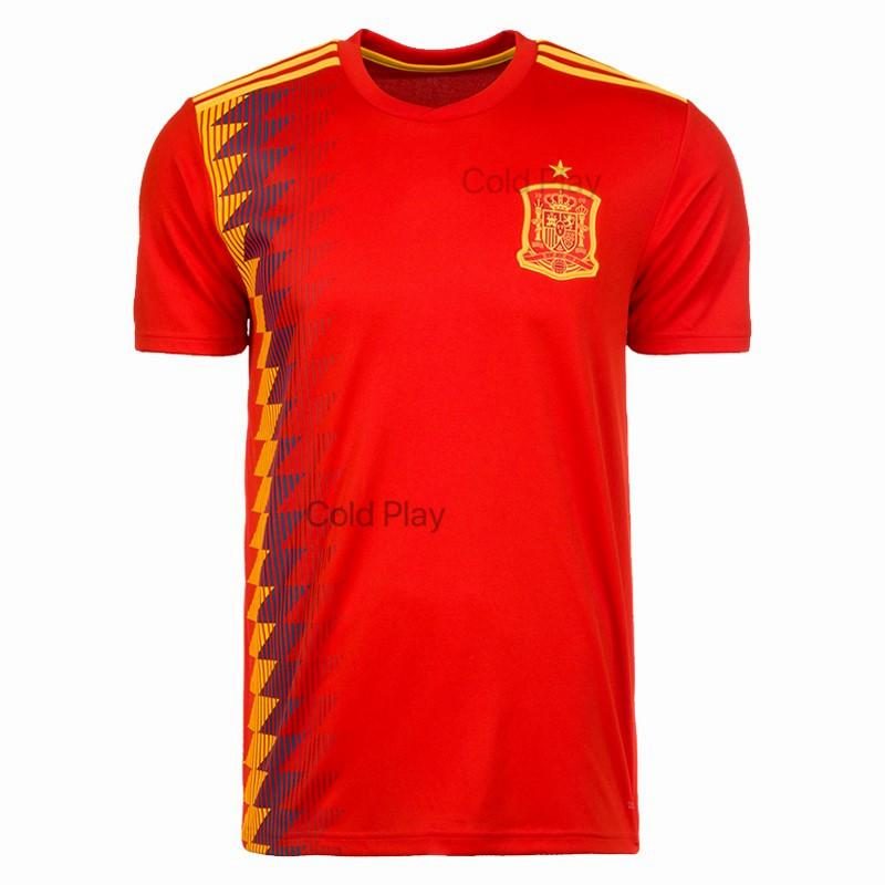 Price Spain National Team 2018 World Cup Home And Away Football Jersey China