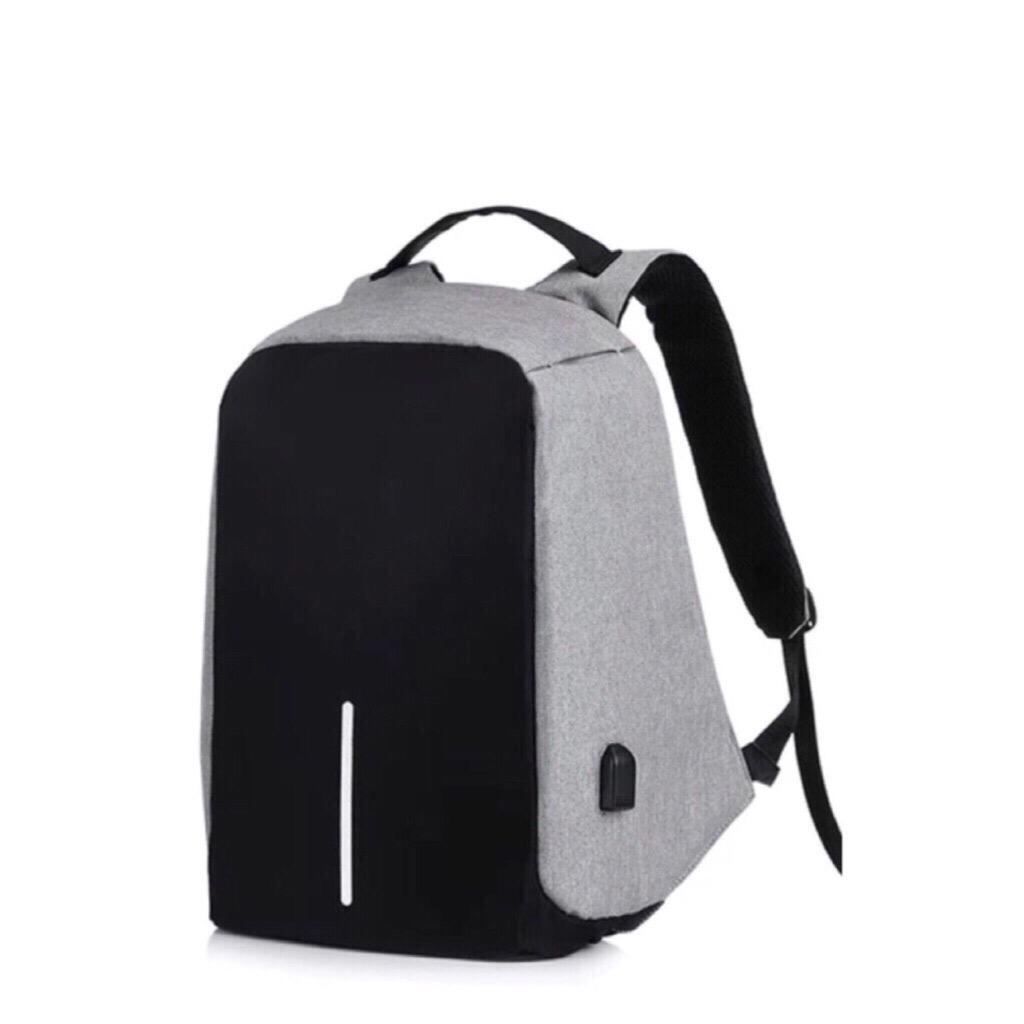 Sale Canvas Backpack Anti Theft Bag Canvas Bag Usb Charging Bag Singapore Cheap