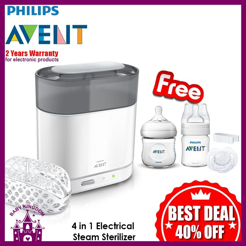 Store Philips Avent 4 In 1 Sterilizer Free Natural Bottle 125Ml Gss Avent On Singapore