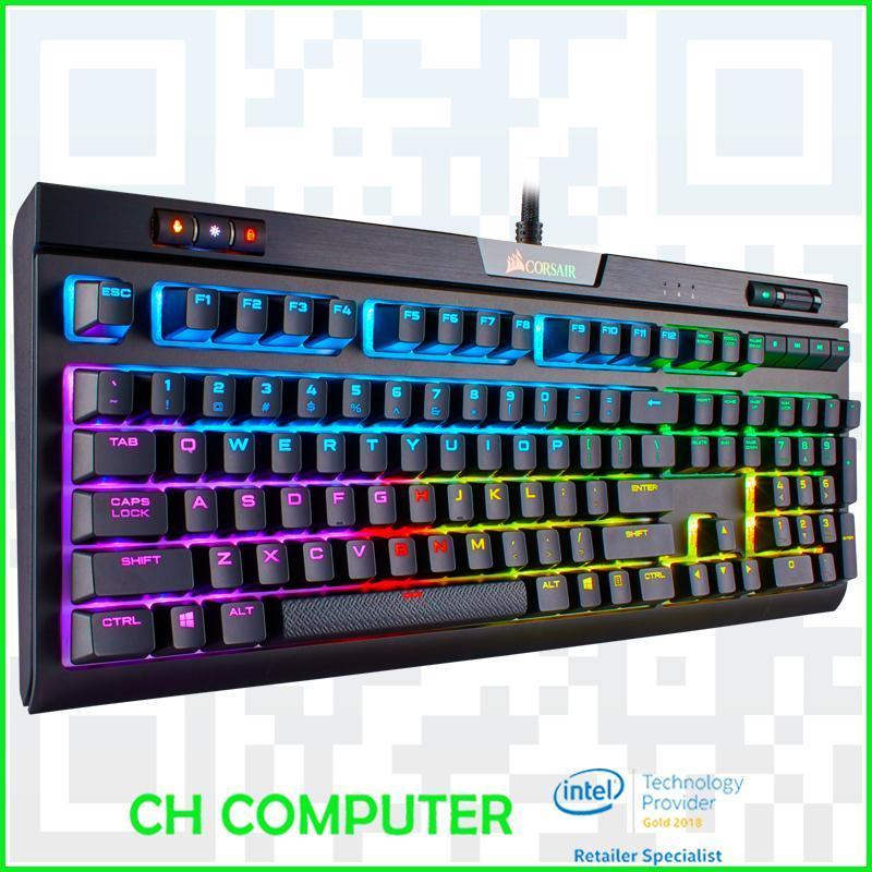 CORSAIR STRAFE RGB MK.2 Mechanical Gaming Keyboard -  Cherry MX Red Singapore