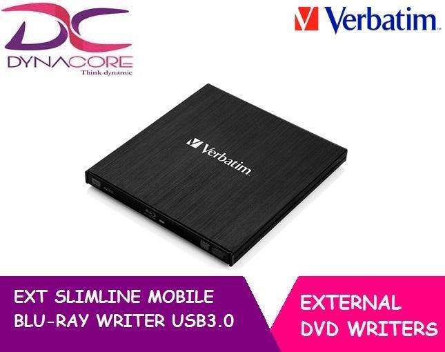 VERBATIM EXT SLIMLINE MOBILE BLU-RAY WRITER USB3.0