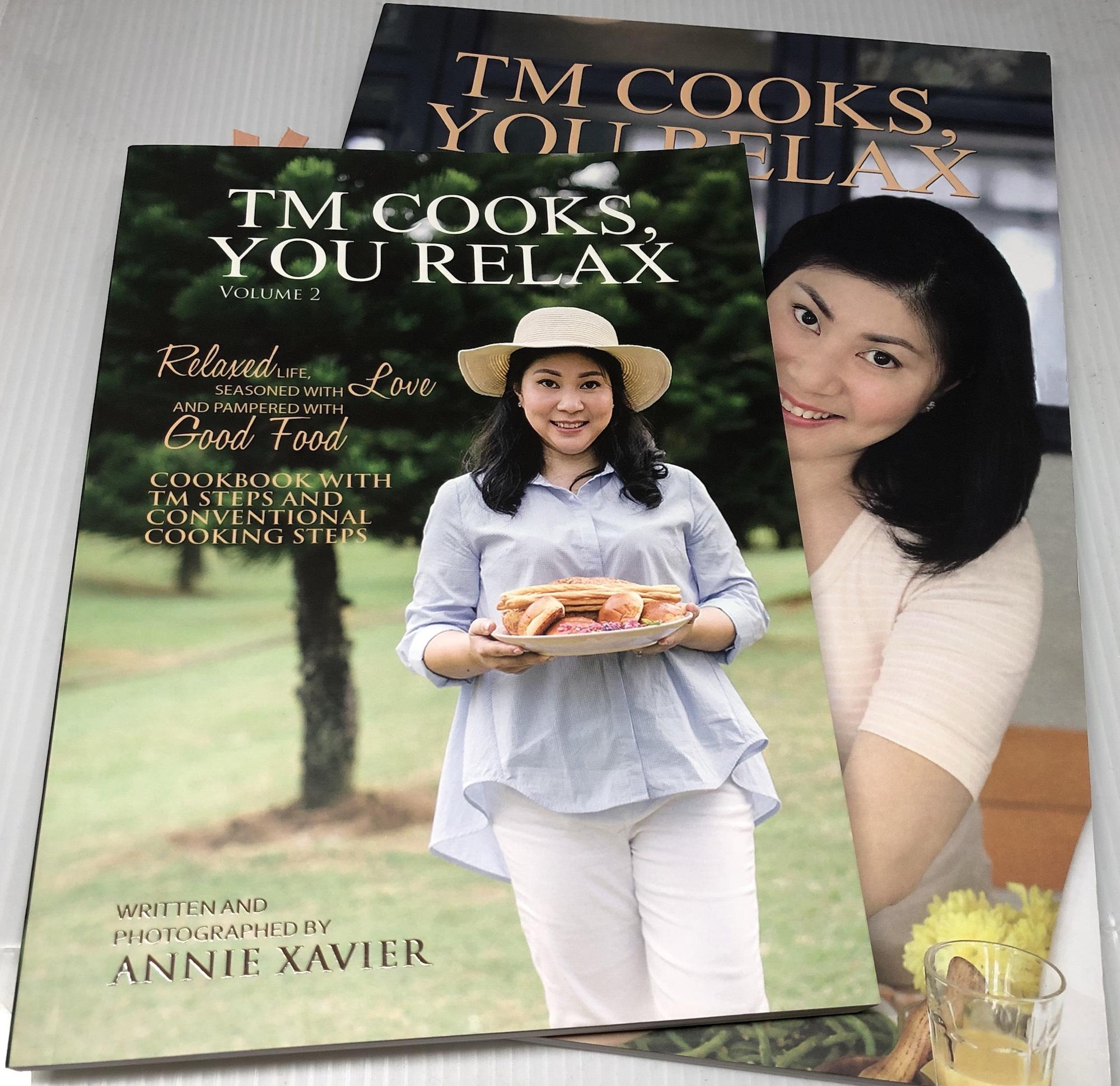 Tm Cooks You Relax Vol 1 And 2 Bundle Thermomix Cookbook Sale