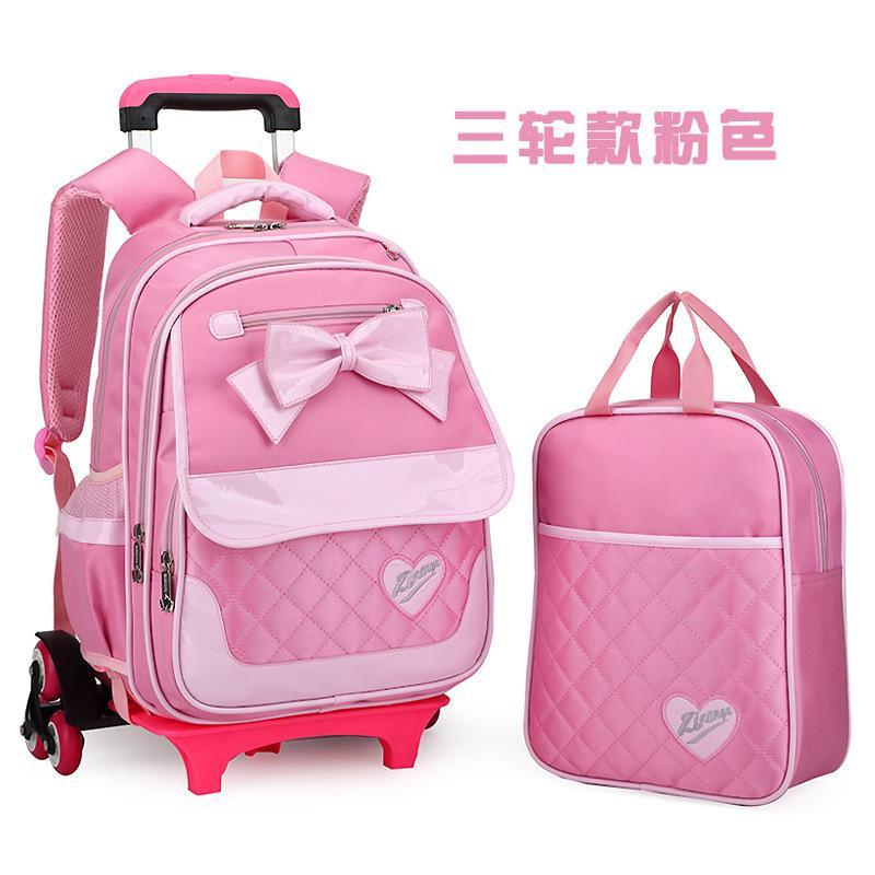 0e338dc09e Student Trolley School Bag Girls Bow Child Shoulder bag OTO5 Singapore
