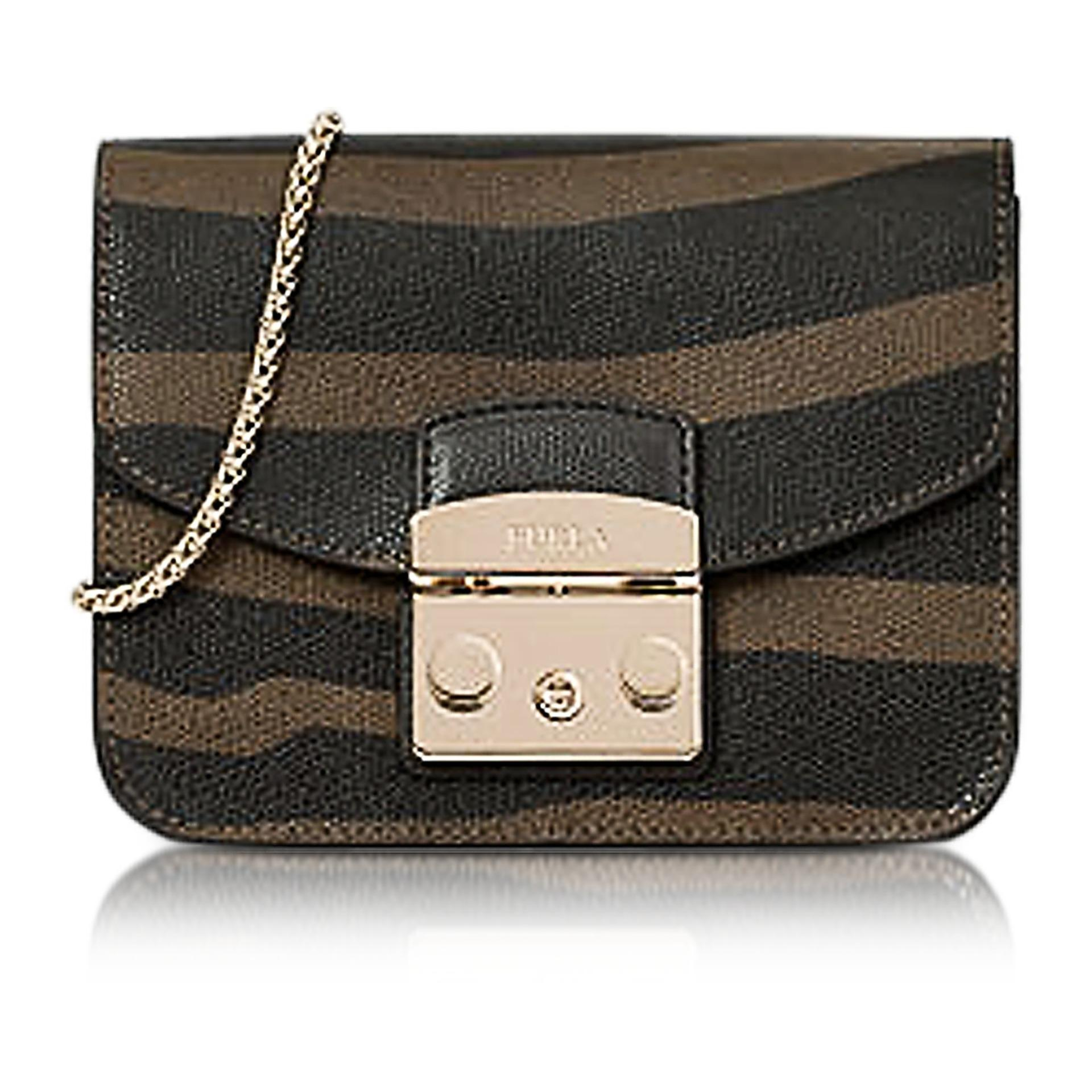 1390ddcd03862 FURLA Glace Zebra Print Leather Metropolis Mini Crossbody Bag