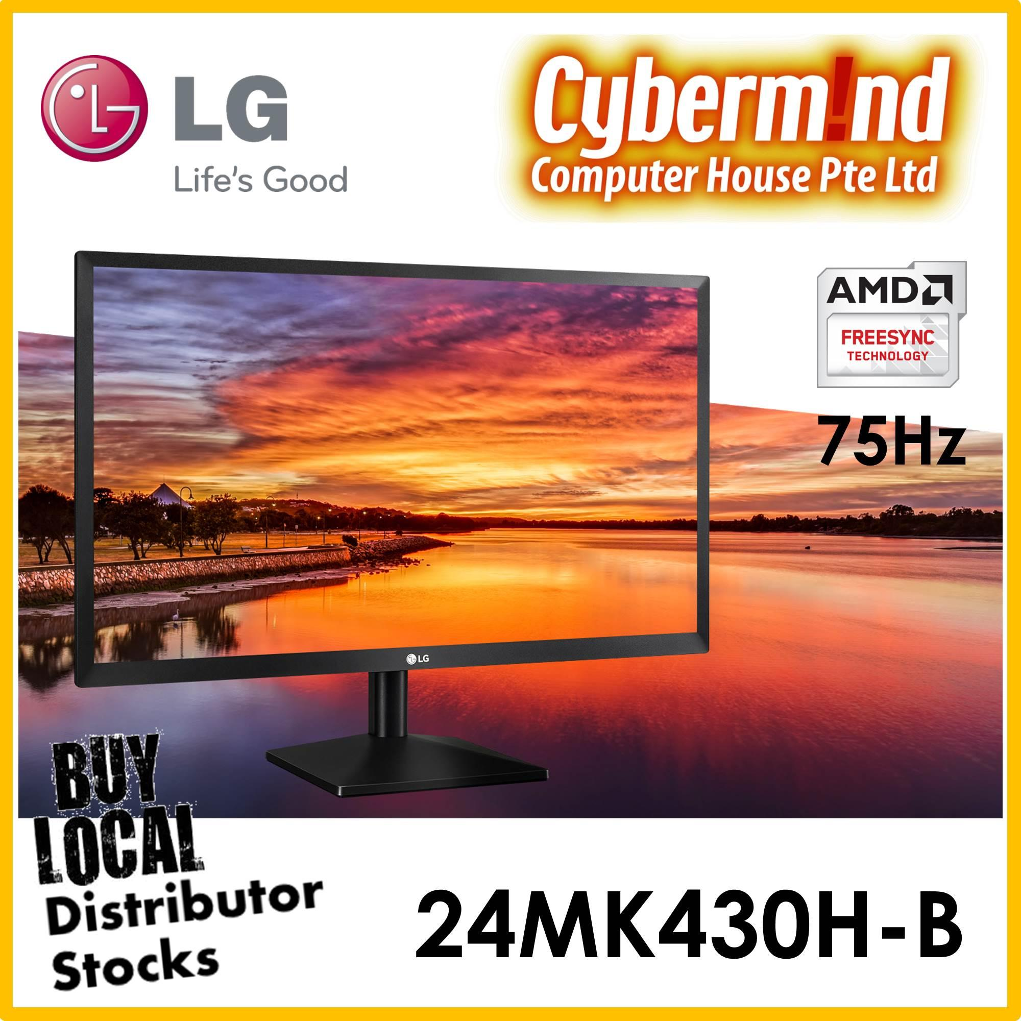 LG 24MK430H-B / 24MK430H 24 Class Full HD IPS LED Monitor with AMD FreeSync (23.8 Diagonal)