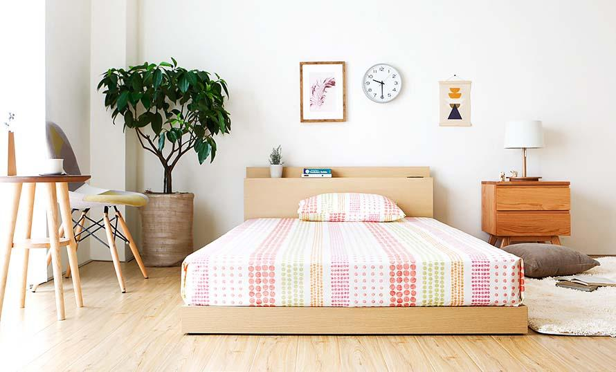 Velvet Japanese Bed (Japan Size)