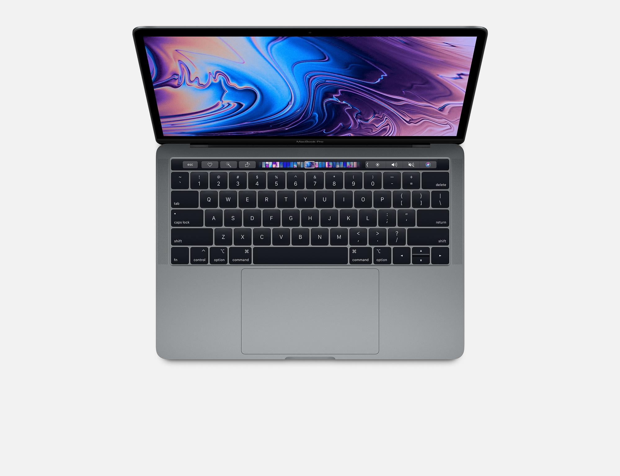 Apple MacBook Pro 15-inch with Touch Bar: 2.2GHz 6-core 8th-generation IntelCorei7 processor, 256GB (2018)