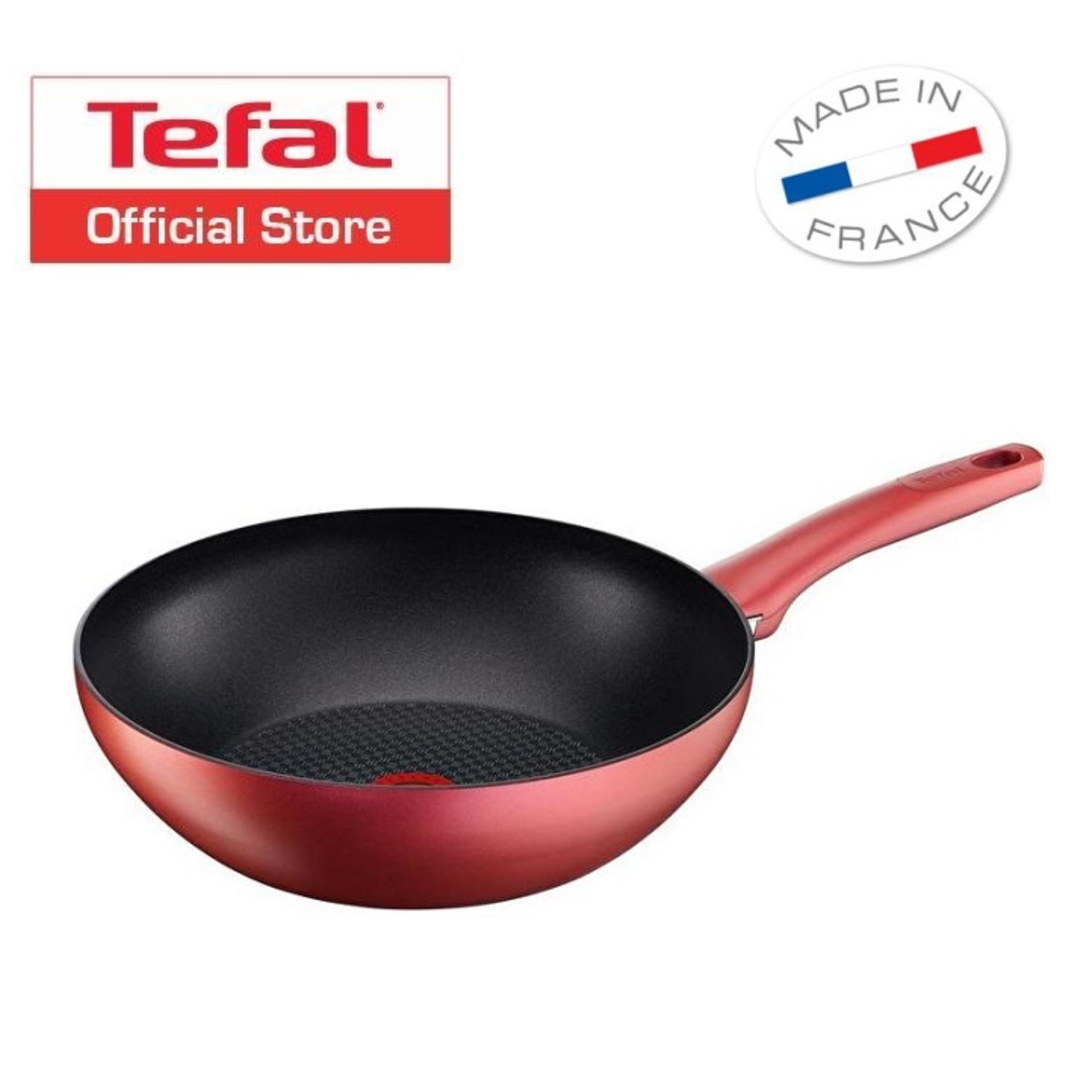 Sale Tefal Character Wok Pan 28Cm C68219 Tefal Original