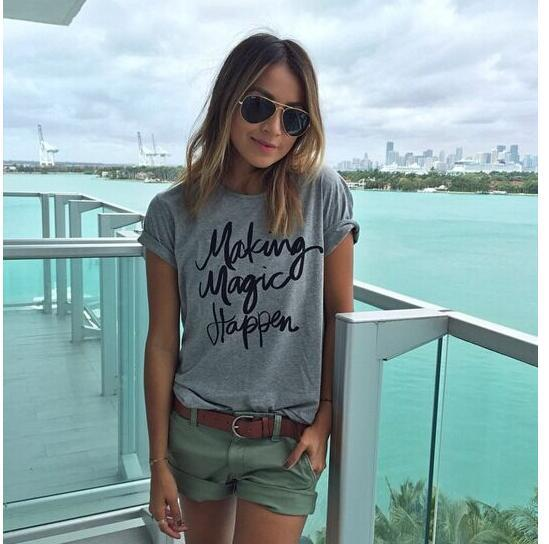 ae1f8663b9ea 2018 Spring And Summer New Style AliExpress EBay Amazon Hot Selling MA  Lettered Short Sleeve T