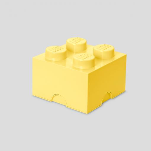 LEGO Storage Brick 4 (Cool Yellow)